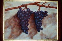 grozdje-mrtva-priroda-slika-ulje-na-platnu